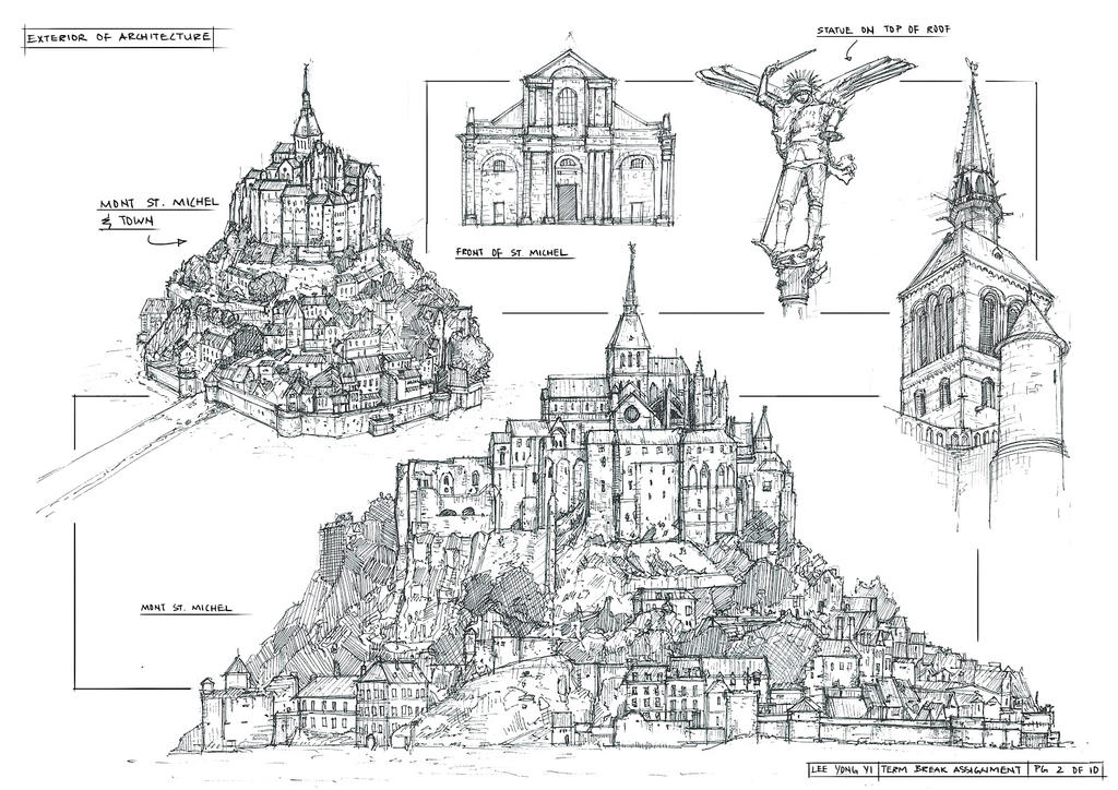 Sketchbook Architecture 2 by yongs