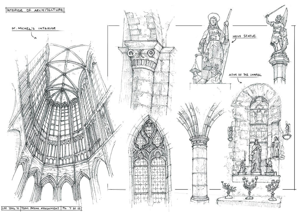 Sketchbook Architecture 5 by yongs