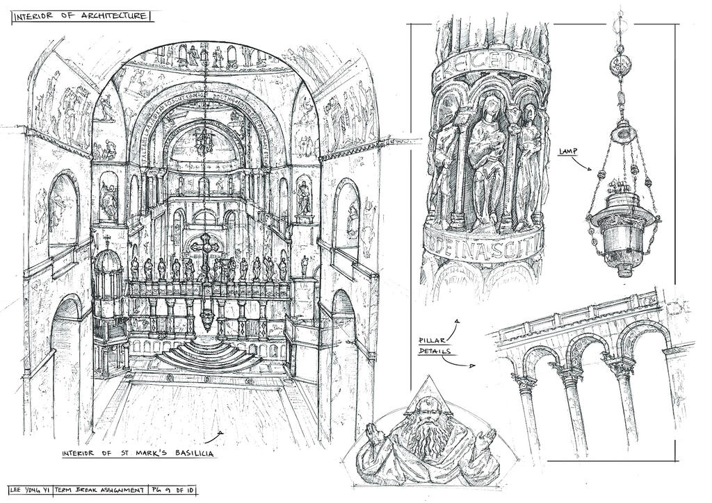 Sketchbook Architecture 6 by yongs