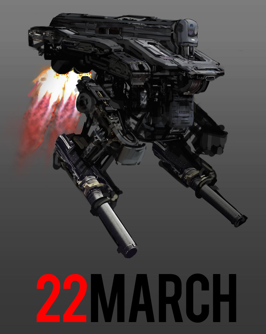 March of Robots 22 by yongs