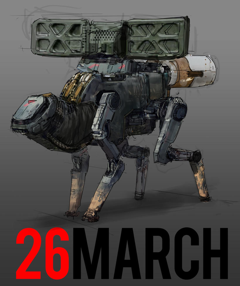 March of Robots 26 by yongs