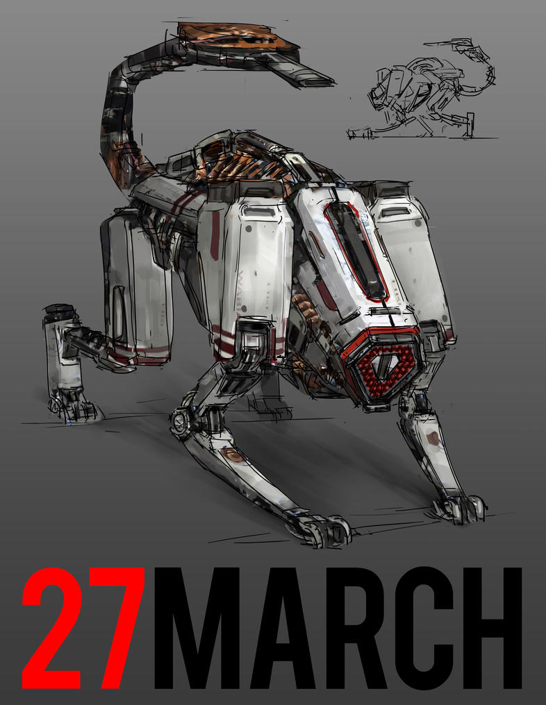 March of Robots 27 by yongs