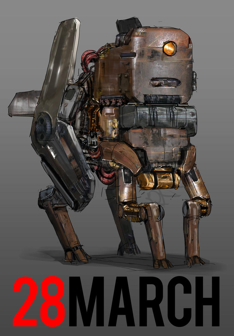 March of Robots 28 by yongs