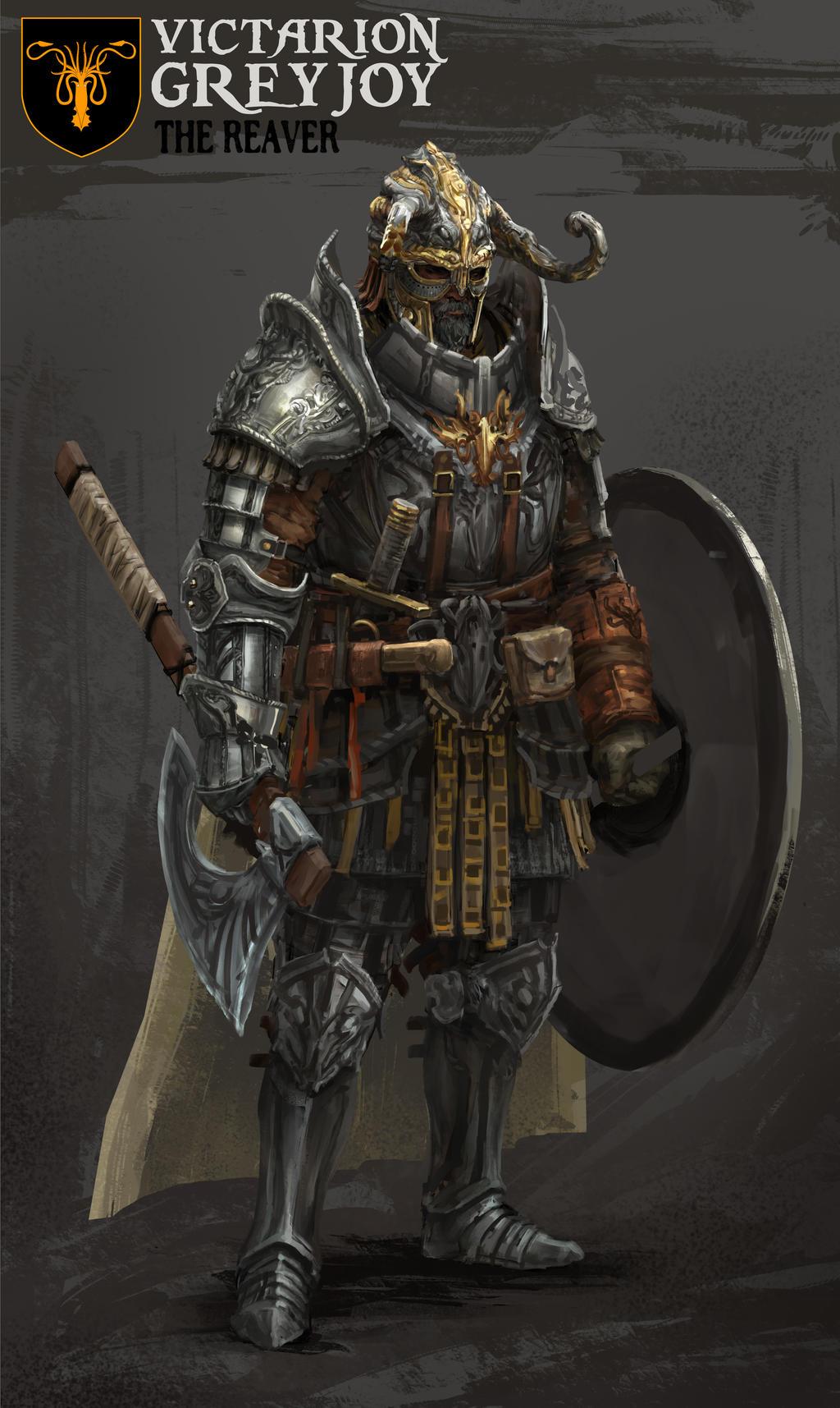 Image - Plate Armor.jpg | Ra Va's D&D Wiki | FANDOM ... |Victarion Greyjoy Helm