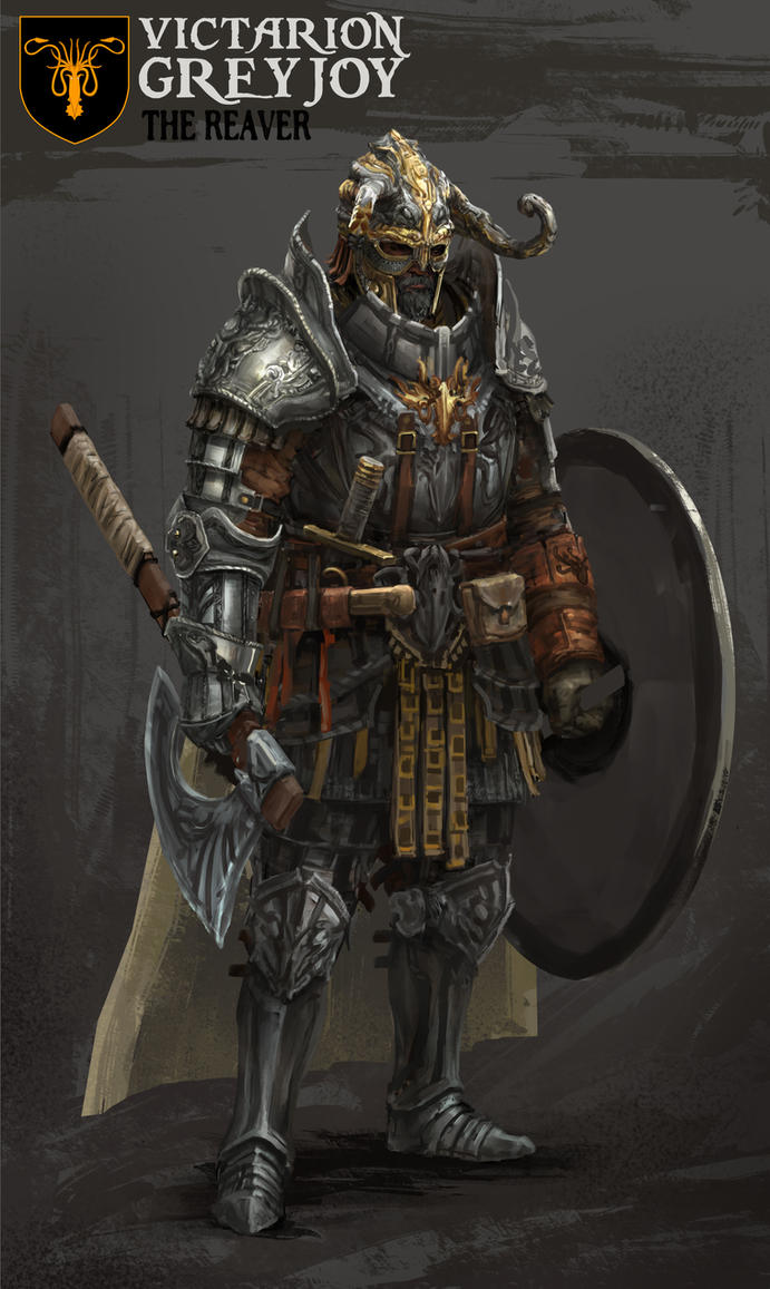 Victarion Greyjoy by yongs
