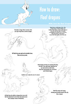 How to draw Floof Dragons!