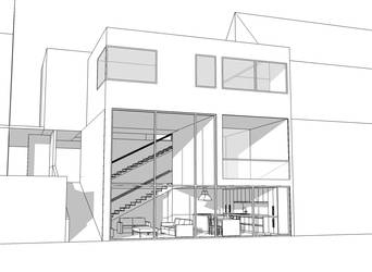 Project House: Exterior View by Specter-tc