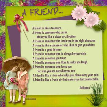 A friend by echobueno
