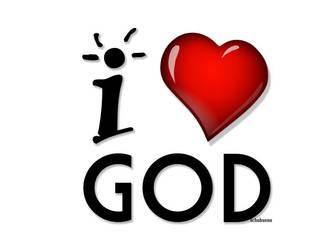 I Love God by echobueno