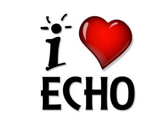 I Love Echo by echobueno