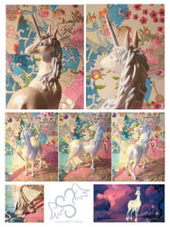Unicorn model commission by stefi-heartlilly