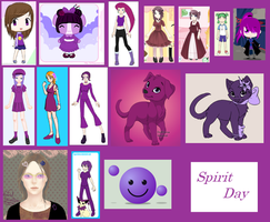 Spirit Day Dress Up characters
