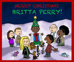 Merry Christmas Britta Perry