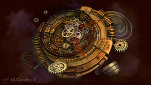 Steampunk Clocks by PVersus