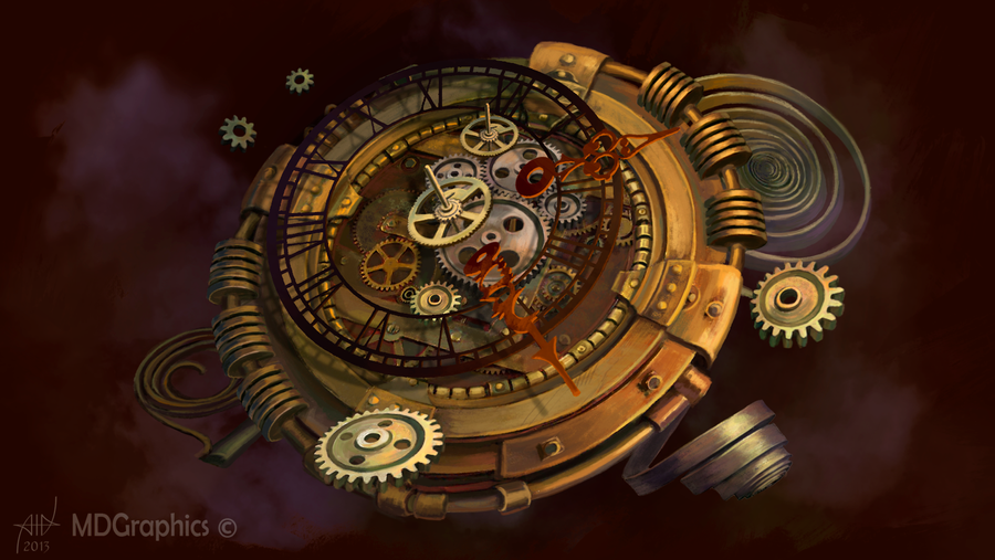 how to make a steampunk clock