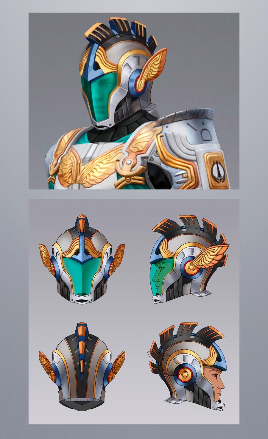 Helmet concept by PVersus