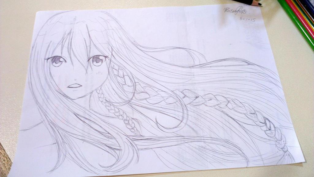 Flowy Hair, Again by aKluiis