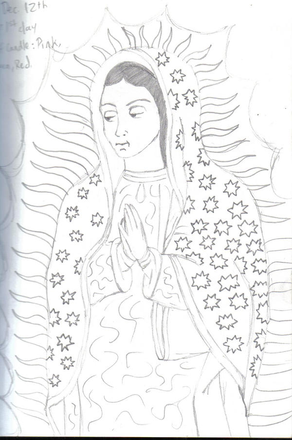 Virgen de Guadalupe by lpzjose on deviantART