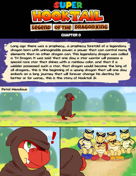 Super Hooktail: Chapter 0 Page 1
