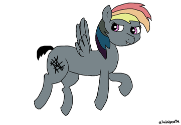 Distorted Dash by alviniscute