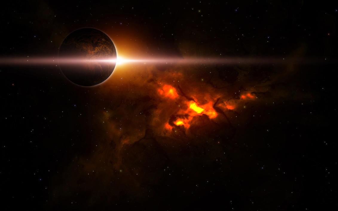 fiery nebula purple - photo #12