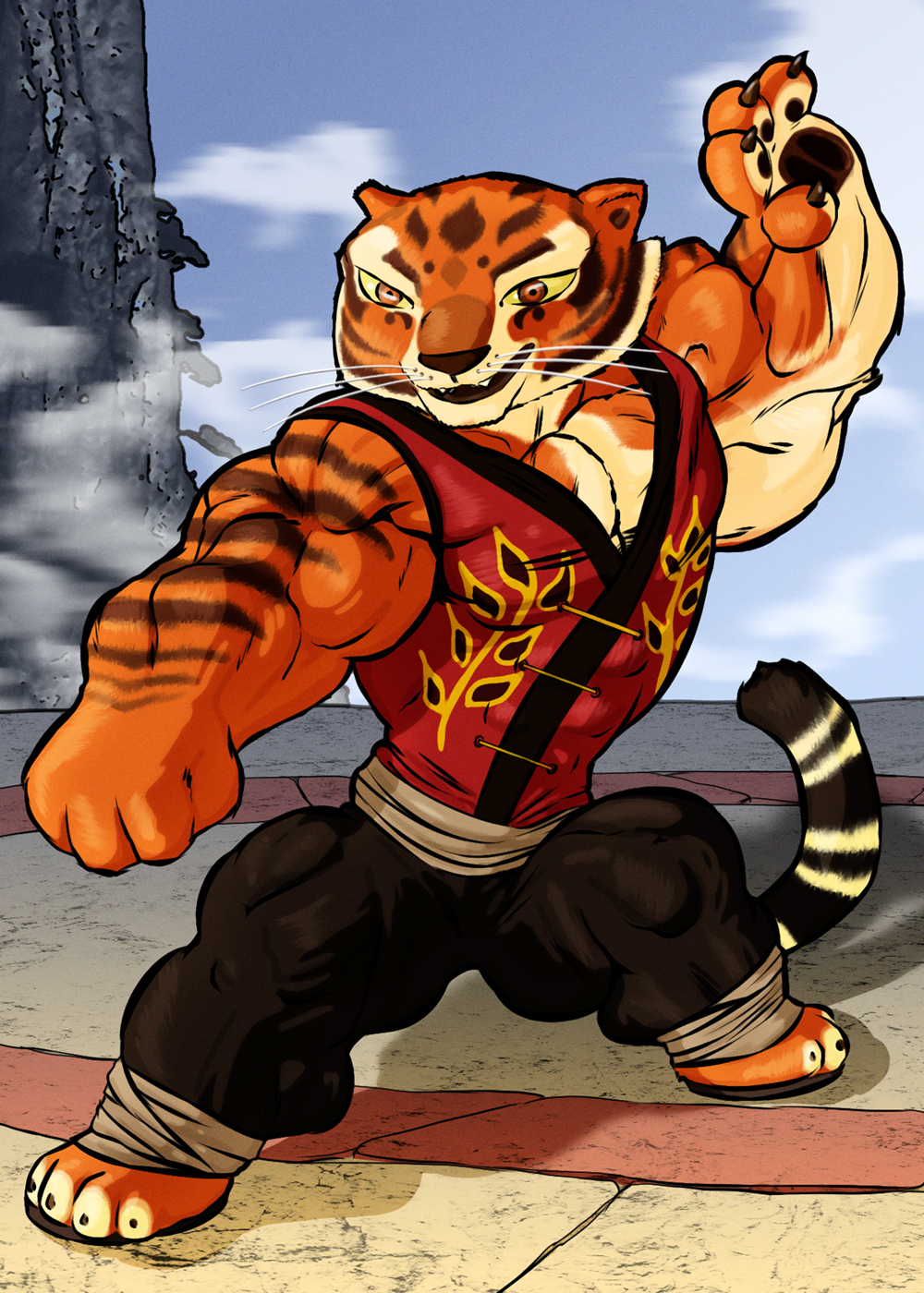 Master Tigress by LordDaroth