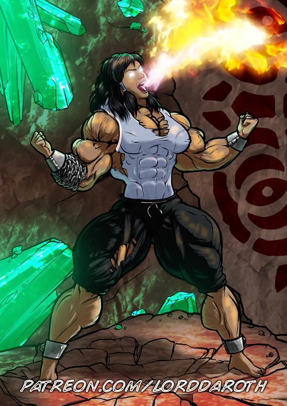Korra-Hulk PROMO by LordDaroth
