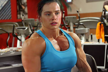 What if Daisy Ridley was swole?