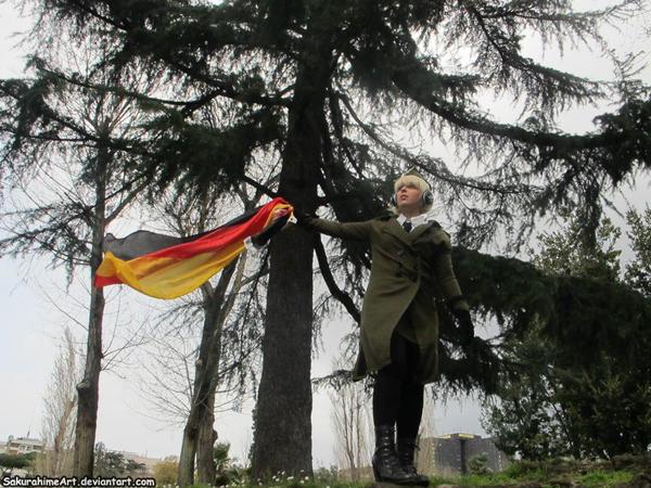 Deutschland und Ehre by SakurahimeArt
