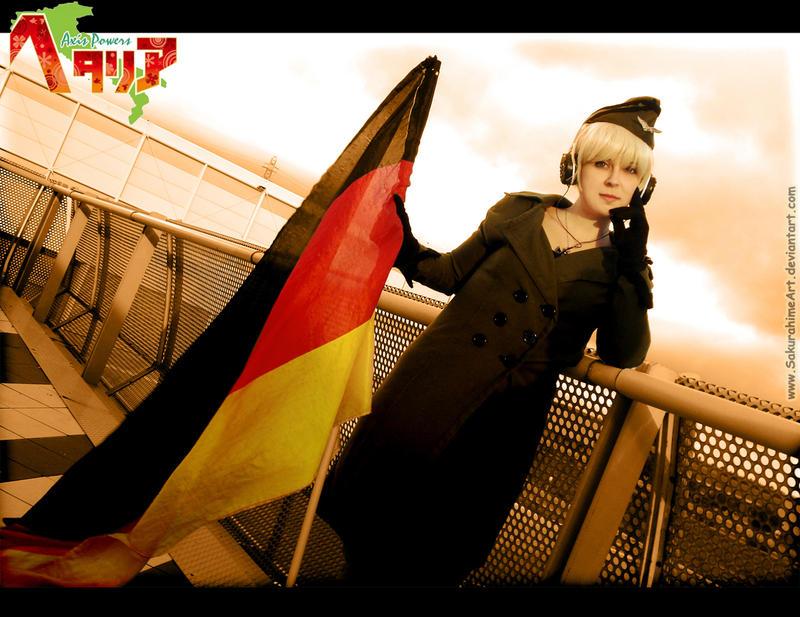 [ APH ] fem!Germany by SakurahimeArt