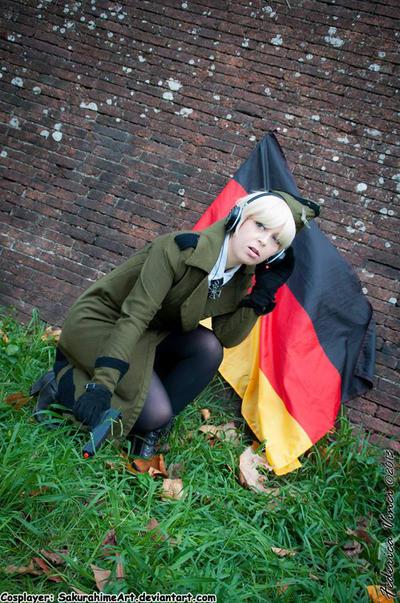 Nyotalia Germany 3 by SakurahimeArt