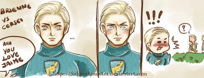 GoT Brienne and Jaime