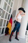 2P Fem!Germany cosplay