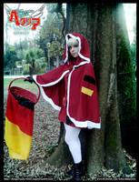 Nyo!Germany Christmas by SakurahimeArt