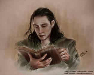 Loki by SakurahimeArt
