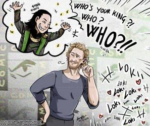 Tom Hiddleston Loki by SakurahimeArt