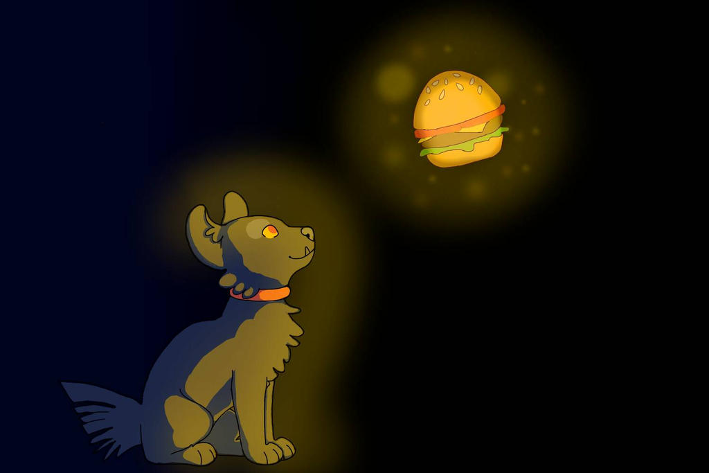 Grendel and the Galaxy Burger by Muuluzi