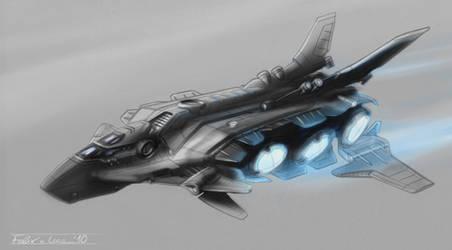 X07_heavy exploration barque by Shantonian