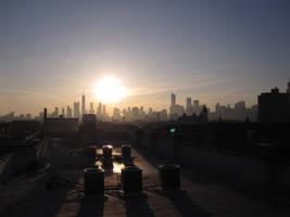 Chicago Sunrise by Shantonian
