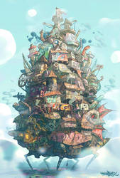 Howl's Moving Castle (H-H) by Panchusfenix