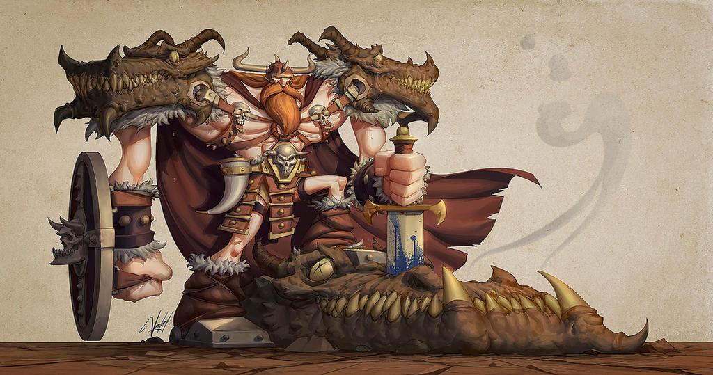 The Viking by Panchusfenix