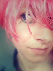 pink gaze by RBloem