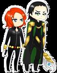 Loki and Natasha