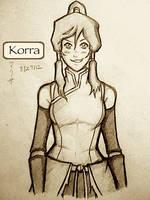 Korra Attempt by NinjaRisa