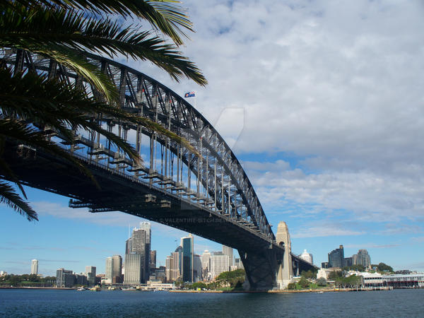 Sydney Harbour Bridge by valentine-bitch