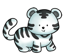 Tigre blanco PNG by mituesposito