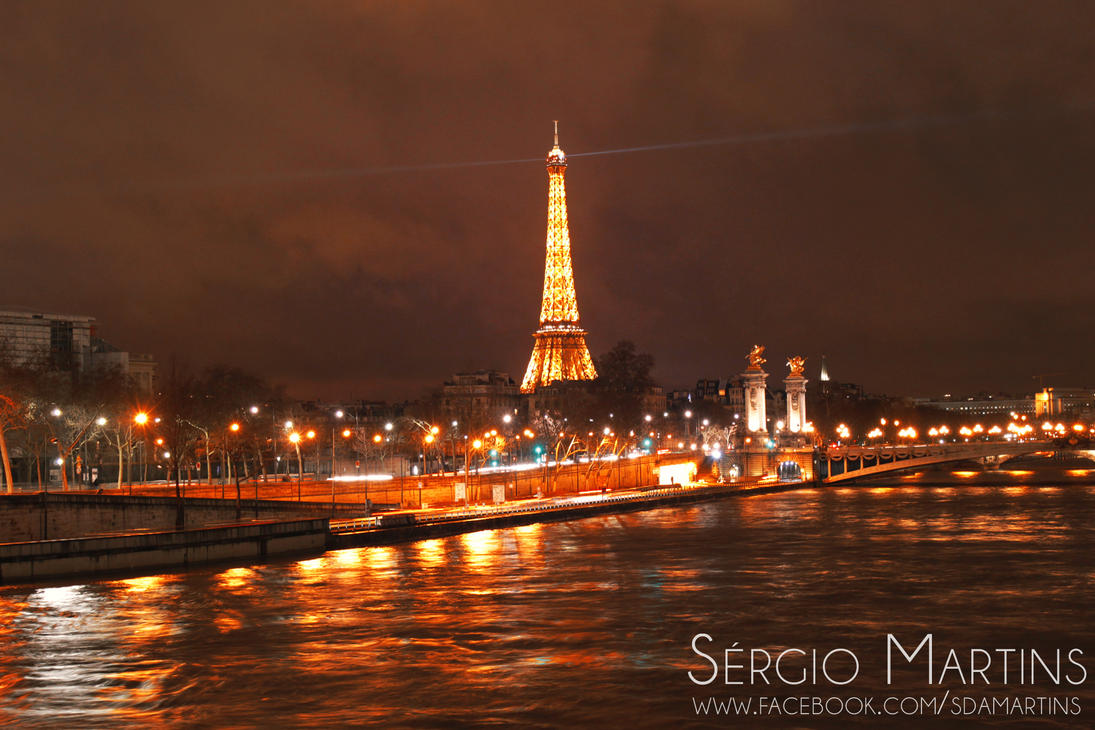 Tour Eiffel I by sergiomartins