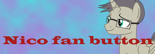 Nico fan button by moonofheaven1