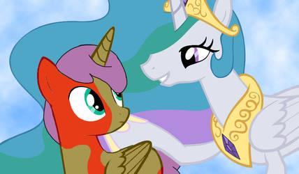 Tychon meet Princess Celestia