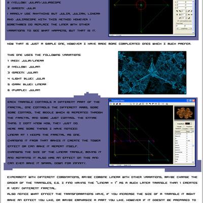 Making Patterns in Apophysis by Azarin